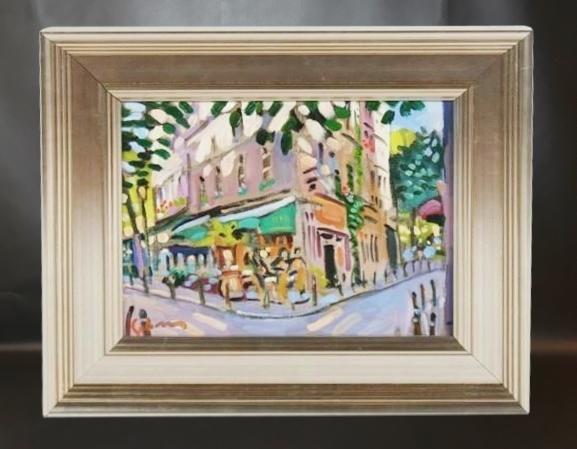 Gred Sobran - Cafe Paris
