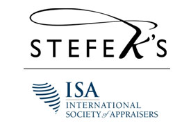 Stefek's Auctions Member of International Society of Appraisers