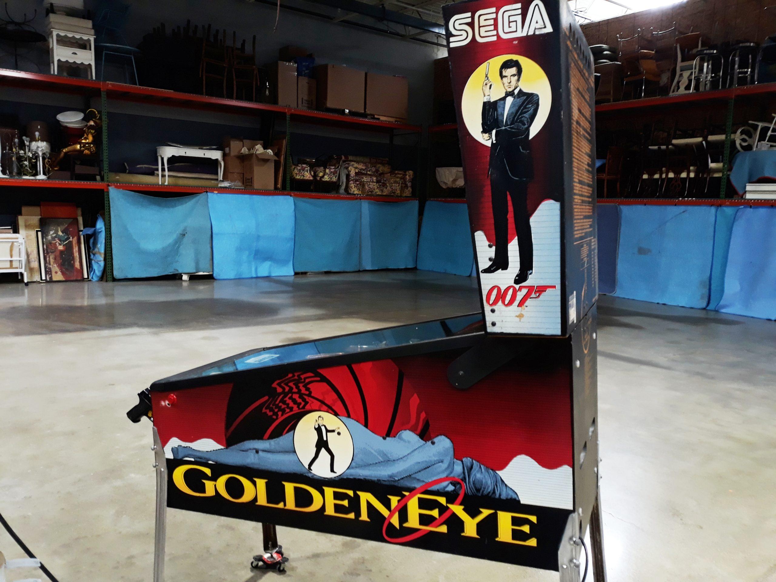 Goldeneye Pinball Sega