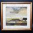 T.H. Goth Framed oil on board