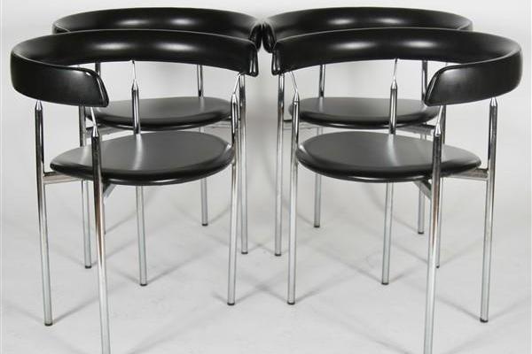 "Jan L. Knutsen for Sorli Fabrikker ""Rondo"" Chairs"