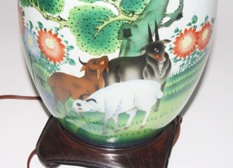Chinese Porcelain Jar Lamp