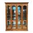 Custom Wood and Glass Display Cabinet