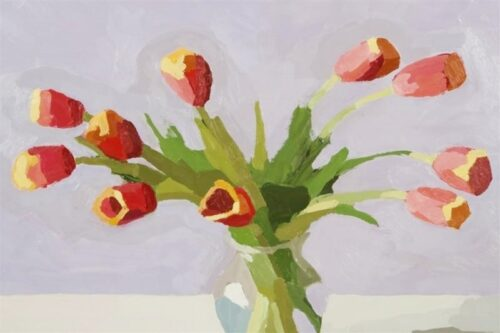 "David Oleski - ""Red Tulips"""