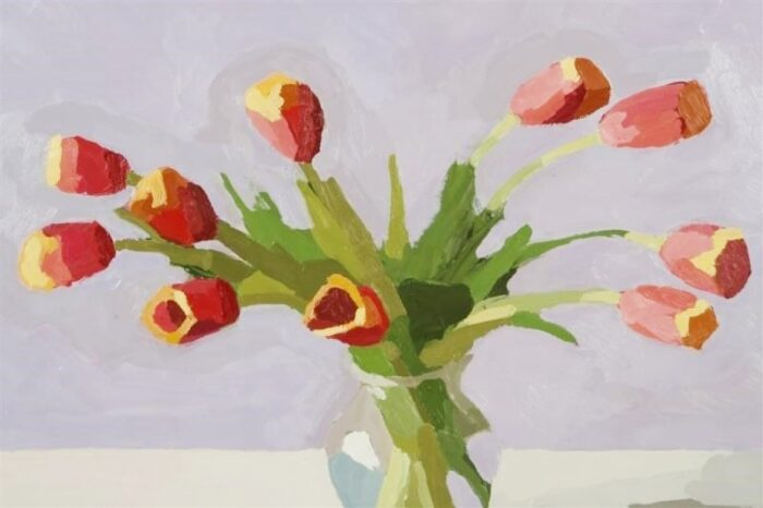 "David Oleski - ""Red Tulips"""