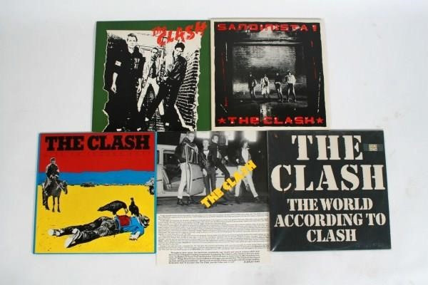 The Clash Vinyls and LPs