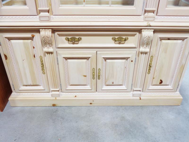 Pine china cabinet