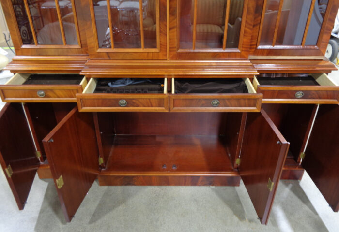Chipendale style China cabinet