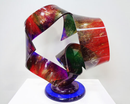 Shlomi Haziza signed plastic sculpture