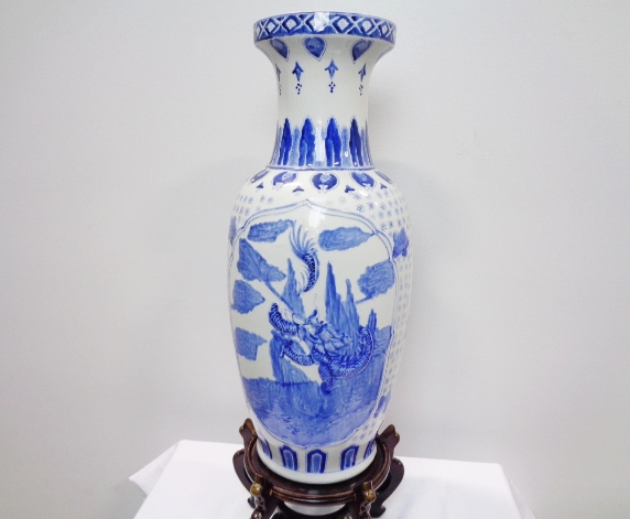 Asian Style Ceramic Vase