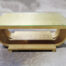 Art Deco style gold painted coffee table