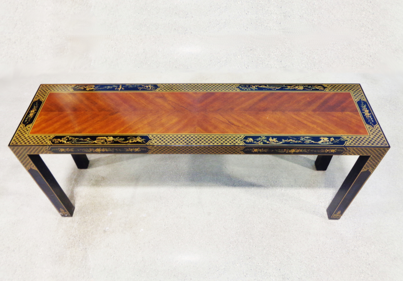 Drexel Heritage - Asian style wood sofa table