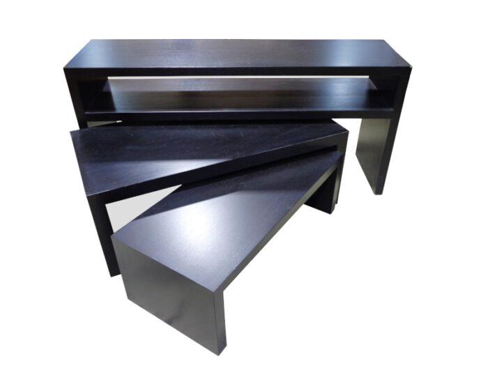 Drexel - Three-Piece Graduated Nesting Table Set
