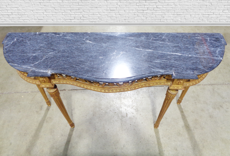 Marble Topped Sofa Table