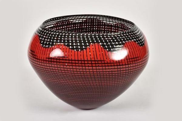 Lino Tagliapietra, Glass Vase.