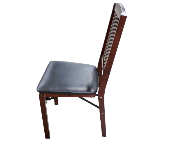 Mahogany Stained Folding Chair
