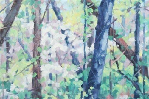 """Linda Leeger Stokes - """"Spring Woods"""""""