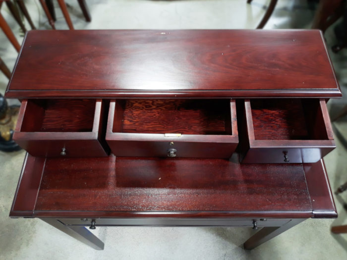 Mahogany Stained Writing Desk