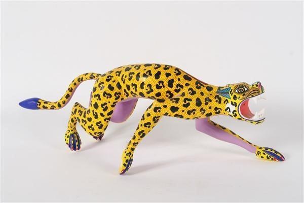 """Jacinto Mandarin, """"Jaguar Sculpture""""."""