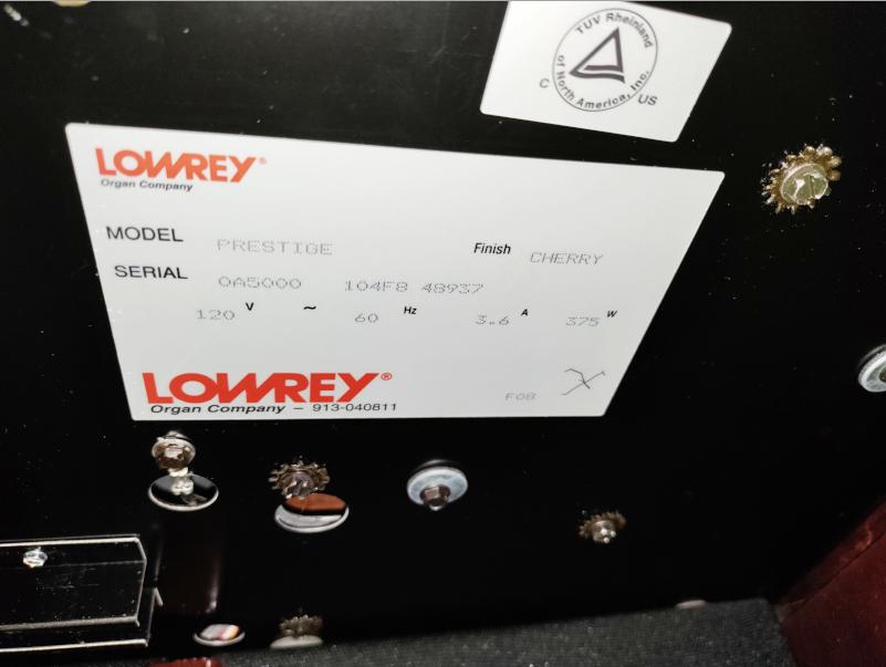 Prestige A5000 Organ 13