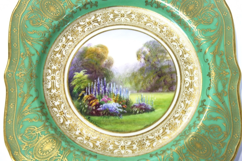 R. Rushton, Royal Worcester Plates