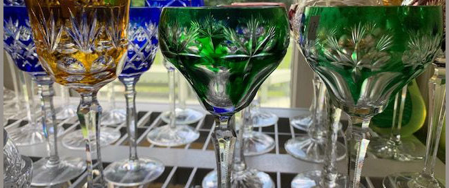 Colored Glassware,