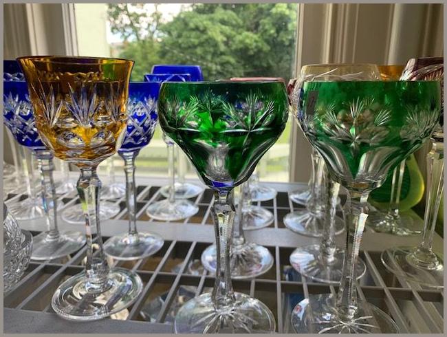 Colored Glassware,