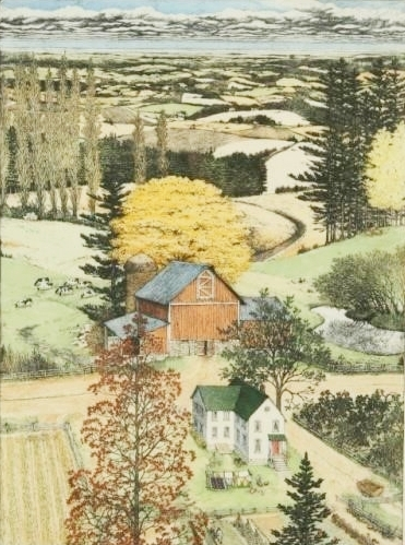 "Susan Hunt-Wulkowicz - ""An Early Autumn"""