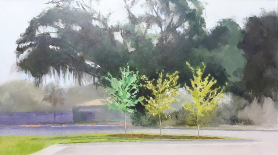 Sandra Reed - Young Trees