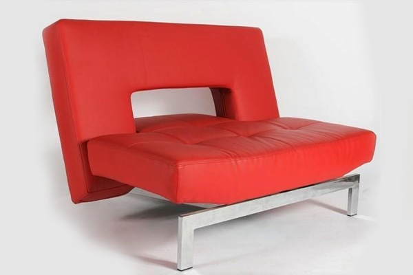 Innovation Living, Wing Leather Accent Chair
