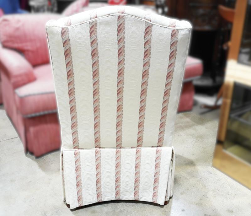 White Armless Chairs