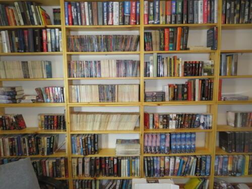 Stefek's Estate Liquidation Management Sci-Fi Book Sale